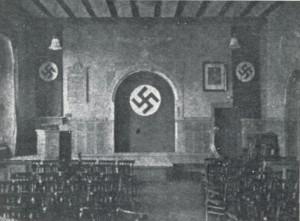 Die Aula des Gymnasiums