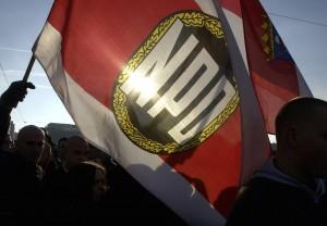 NPD-Fahnen wehten auch in Dorsten